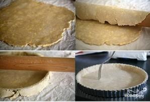 Пирог с творожной начинкой и помидорами - фото шаг 1