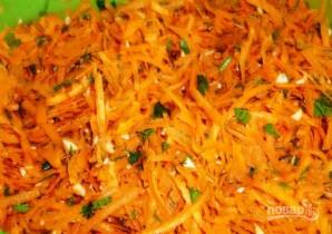 Маринованные голубцы с морковью по-корейски - фото шаг 2