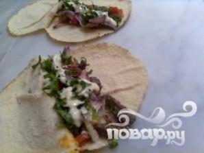 Арабский сэндвич - фото шаг 11