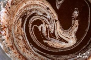 Шоколадные пирожные с шоколадным кремом - фото шаг 2