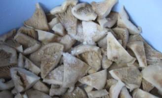 Засолка грибов - фото шаг 5