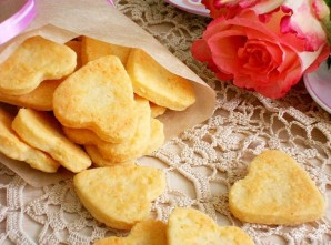 Быстрые сырные печенья - фото шаг 6