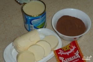 Крем для торта из сгущенки - фото шаг 1