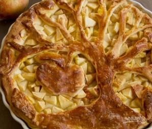 Пироги с яблоками из дрожжевого теста - фото шаг 8