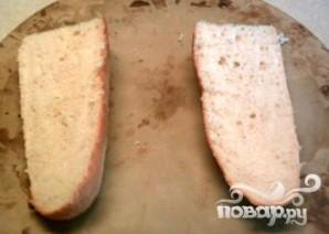 Чесночно-сырный бутерброд - фото шаг 1