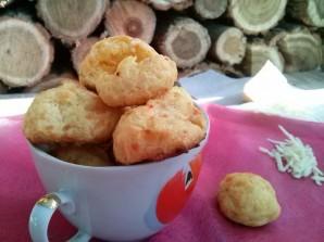 Сырные булочки из заварного теста - фото шаг 5