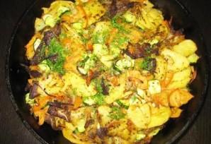 Жареная говядина с картошкой - фото шаг 20