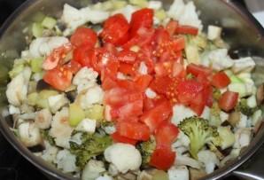 Овощное рагу с цветной капустой - фото шаг 5