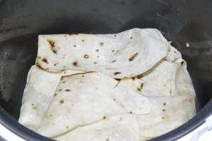 Ачма с мясом из лаваша - фото шаг 4