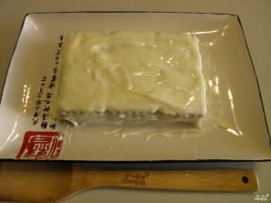 Торт из печенья без выпечки со сметаной - фото шаг 4