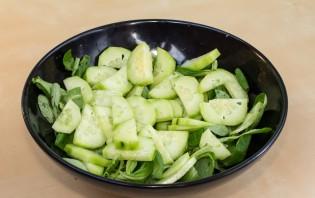 Легкий салат с курицей - фото шаг 5