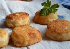 Пирожки-бомбочки с мясом - фото шаг 8