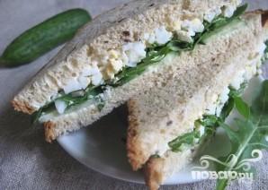Сэндвичи с яйцом - фото шаг 5