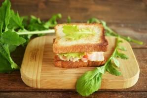 Бутерброд с беконом - фото шаг 6