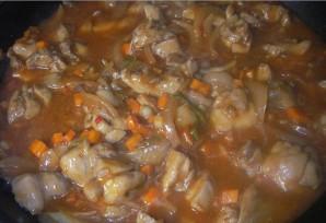 Острая курица с овощами - фото шаг 3