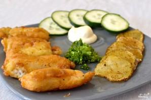 Рыба и чипсы - фото шаг 7