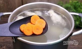 Суп из курицы с вермишелью - фото шаг 3