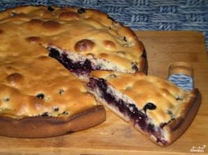 Бисквит с черникой - фото шаг 5