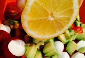 "Салат с соусом ""Наршараб"" - фото шаг 5"