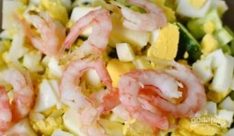 Салат из кальмаров с крабовыми палочками - фото шаг 5