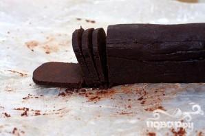 Шоколадное печенье со сливочным кремом - фото шаг 1