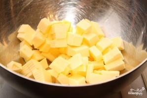 Быстрый пирог с консервированными персиками - фото шаг 1