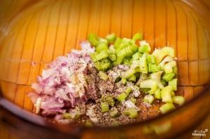 Салат с варёной картошкой - фото шаг 2
