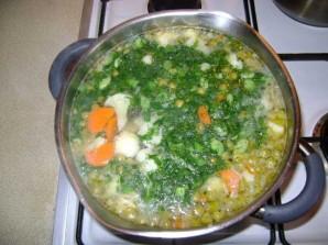 Суп с цветной капустой и горошком - фото шаг 4