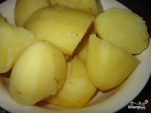Холодник с картошкой - фото шаг 9