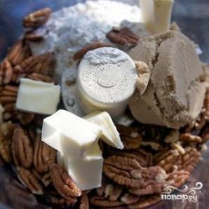 Ежевичный пирог с орехами - фото шаг 1