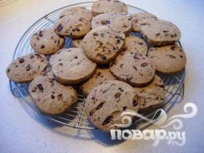 Миндальное печенье с шоколадом - фото шаг 5