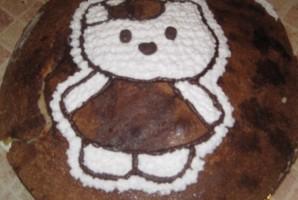 Торт на день рождения девочке 4 года - фото шаг 7