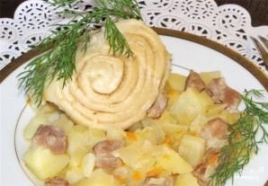 Штрудель с мясом и картошкой - фото шаг 13