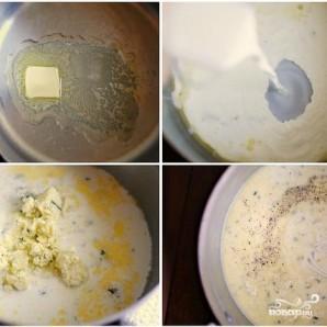 Паста с соусом из голубого сыра - фото шаг 3