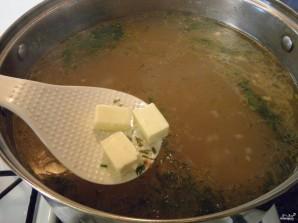 Сырный суп с фрикадельками - фото шаг 9