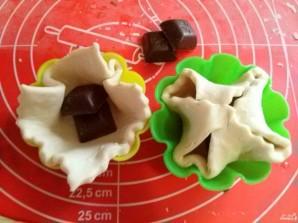 Шоколад в слоеном тесте - фото шаг 2