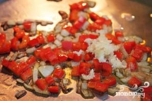 Конвертики с овощной начинкой - фото шаг 2