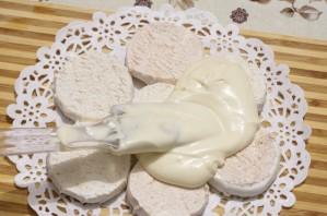 Торт из зефира без выпечки - фото шаг 5