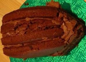 """Торт """"Ежик"""" без выпечки - фото шаг 3"""