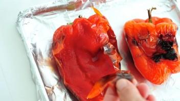 Запеченный болгарский перец в духовке - фото шаг 3