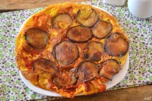 Омлет с баклажанами и помидорами - фото шаг 7