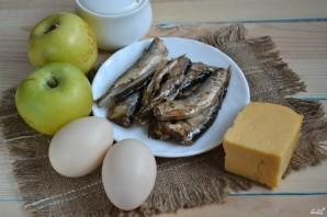 Салат из шпрот - фото шаг 1
