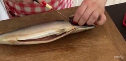 Скумбрия в духовке (вкусный обед) - фото шаг 1