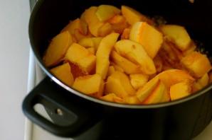 Пюре из тыквы и яблок - фото шаг 3
