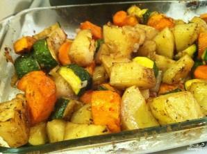 Картофель с овощами запеченный - фото шаг 5