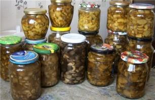 Маринованные белые грибы без стерилизации - фото шаг 4
