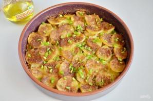 Картофельная запеканка с грибами и чесноком - фото шаг 7