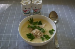 Грузинский суп с курицей - фото шаг 8