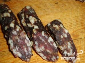 Сыровяленая колбаса - фото шаг 7