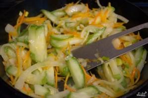 Рисовая лапша с овощами - фото шаг 6